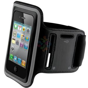 Armband case for iPhone 4/4S Black