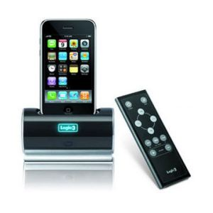 Charge Dock for iPod Logic3 Pro-Dock w/TV & Audio Ports