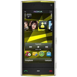 Nokia X6 16GB Yellow (White-Yellow)