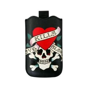 Carrying case for iPhone 4/4S Ed Hardy Love Kills Slowly Black
