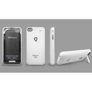 pretty nice 8264c 040b2 Power case for iPhone 4/4S QYG External Battery Case White ...