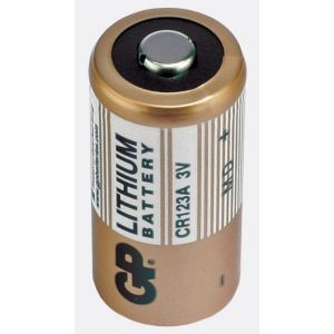 GP CR123A Lithium Battery for Visonic Motion Detectors PG2 & Arming Devices