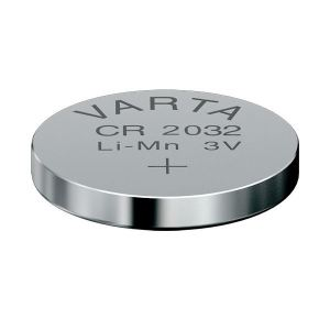 Varta CR2032 Lithium Battery for Visonic Keyfobs PG2 Bulk