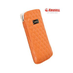 Carrying case for iPhone 5/5S Krusell Avenyn Orange