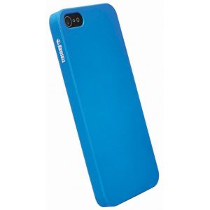 Carrying case for iPhone 5/5S Krusell ColorCover Faceplate Blue