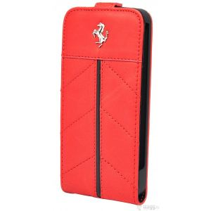 Carrying case for iPhone 5/5S Ferrari California Series Flip-Case Red