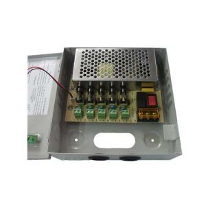 Power Supply 12V/5A 5-Channel fused box