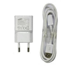 Travel charger Samsung G900 ETA-U90EWE 2-pin w/USB Cable Bulk