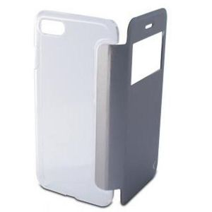 Carrying case for iPhone 8/7 KSIX Crystal View Folio Case Black