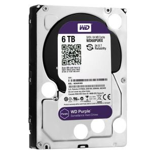 Western Digital WD60PURZ PURPLE 6TB Hard Disk Drive