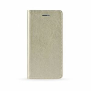 Carrying case for iPhone 8/7 iSelf Leather Book Magnet Case Gold