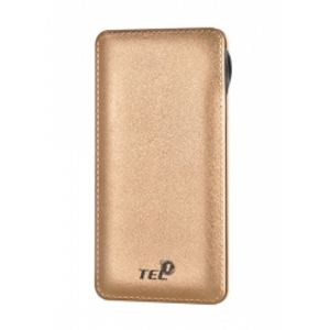 Power Bank Universal Charger 12000 mAh Gold (Android and iPhones)