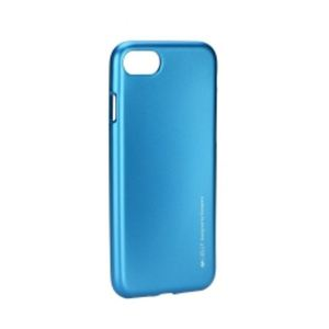 Carrying case for iPhone 8/7 I-Jelly TPU Case Blue