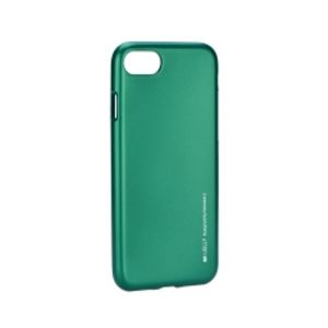 Carrying case for iPhone 8/7 I-Jelly TPU Case Green