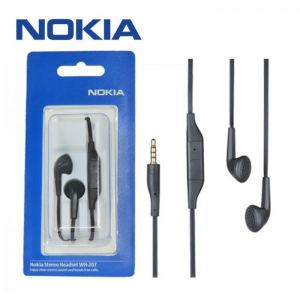 HandsFree Nokia WH-207 2.5/3.5mm jack Stereo Black
