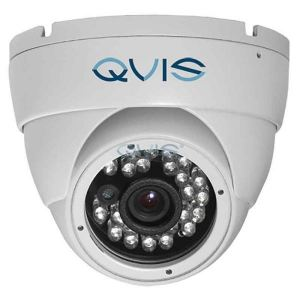 QVIS Full HD Camera 4IN1 AHD/TVI/CVI/CVBS IR 30m 2.4MP Vandal-proof IP66 Vari-focal Dome White