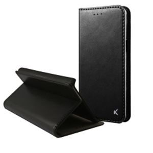 Carrying case for Samsung A520 KSIX Standing Folio Case Black