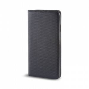Carrying case for iPhone 6/6S/7/8 Holdit Genuine Leather Book Magnet Case Black