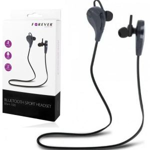 BLUETOOTH HANDSFREE SPORT STEREO Forever BSH-100 black