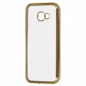Carrying case for Samsung A520 Senso TPU Side Color Gold
