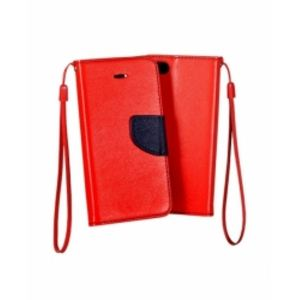 Carrying case for Samsung J510 iSelf Book Fancy Case Red