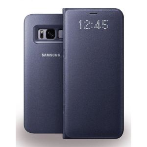 Original Carrying case Samsung G955 Galaxy S8 Plus EFNG955PVE LED View Cover Violet