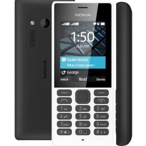 Nokia 150 Dual SIM White - 2017 model - 2.4 inch LCD screen!