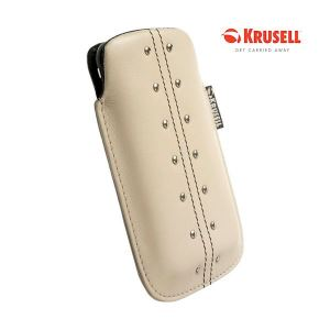 Carrying case Krusell Universal Large Kalix Beige