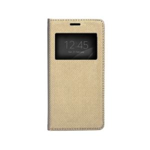 Carrying case for Huawei P10 Lite Senso Book Window Dots Magnetic Case Gold