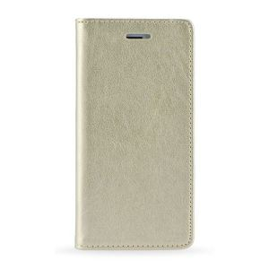 Carrying case for Samsung J530 Senso Book Magnetic Case Gold