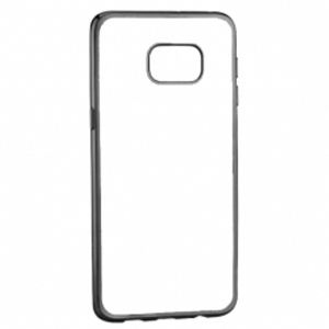 Carrying case for Samsung G955 Galaxy S8 Plus Senso TPU Clear Side Color Black
