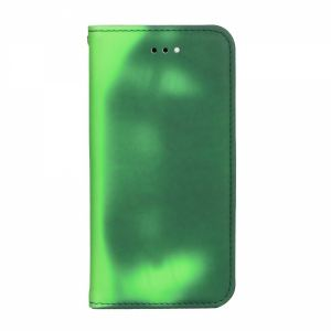 Carrying case for Samsung J730 Senso Book Chameleon Case Green