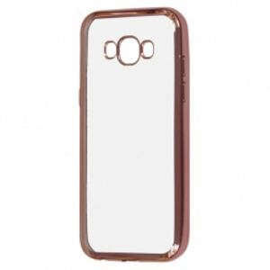 Carrying case for Samsung J730 Senso TPU Side Color Rose Gold