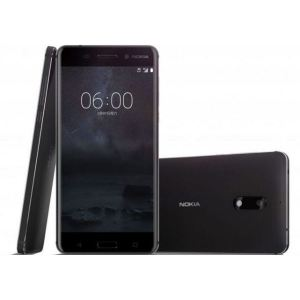 Nokia 6 Black - New 2017 model (free Power Bank or Tempered Glass)