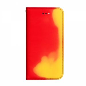 Carrying case for iPhone 8/7 Senso Book Chameleon Case Orange