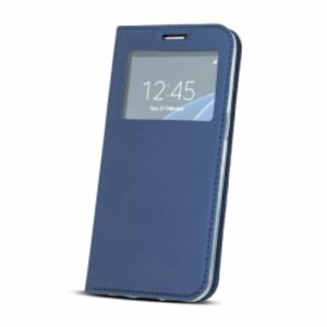 Carrying case for Samsung J530 Senso Book Window Magnetic Case Blue