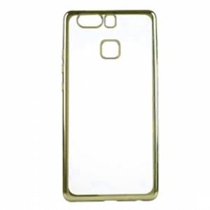 Carrying case for Huawei P10 Lite Senso TPU Clear Side Color Gold