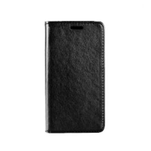 Carrying case for LG K5 (X220) Senso Leather Stand Book Magnet Case Black