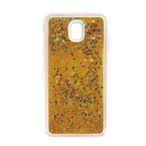 Carrying case for Samsung J530 Senso TPU Glitter Gold