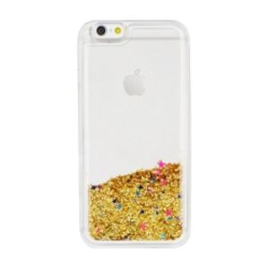 Carrying case for iPhone 8/7/SE(2020) Senso TPU Glitter Gold