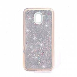 Carrying case for Samsung J730 Senso TPU Glitter Silver