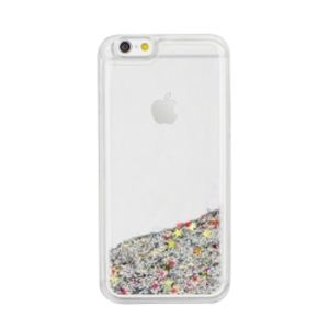 Carrying case for iPhone 6/6S Senso TPU Glitter Silver