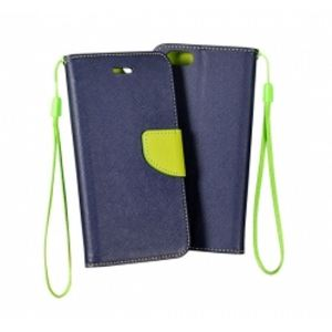 Carrying case for Samsung J730 iSelf Book Fancy Case Blue Lime