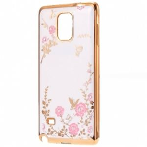 Carrying case for Samsung J730 Senso TPU Diamond Gold