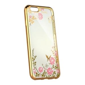 Carrying case for iPhone 8 Plus/7 Plus Senso TPU Diamond Gold