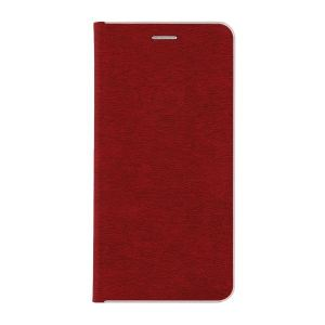 Carrying case for Samsung G950 Galaxy S8 Senso Feel Stand Book Magnetic Case Red
