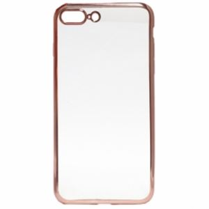Carrying case for iPhone 8 Plus/7 Plus Senso TPU Clear Side Color Rose Gold