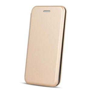 Carrying case for Samsung A530 A8(2018) Senso Oval Book Magnetic Case Gold