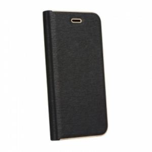 Carrying case for Samsung N950 Galaxy Note 8 Senso Feel Stand Book Magnetic Case Black