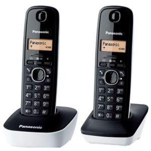 Panasonic Cordless Phone KX-TG1612 White/Black